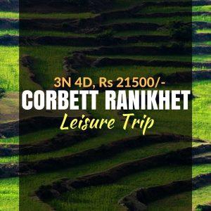 weekend stay at corbett ranikhet