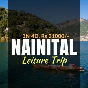 weekend stay at nainital