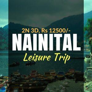 weekend trip to nainital