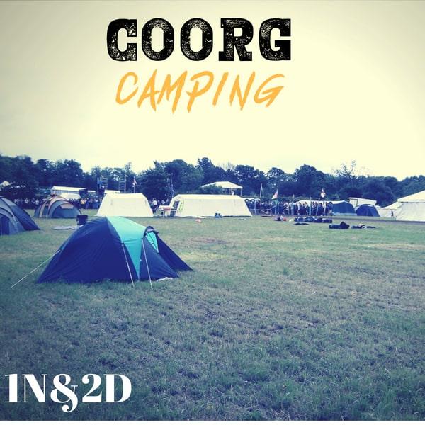 Adventure in coorg