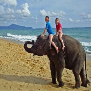Boat Ride to Elephant Beach