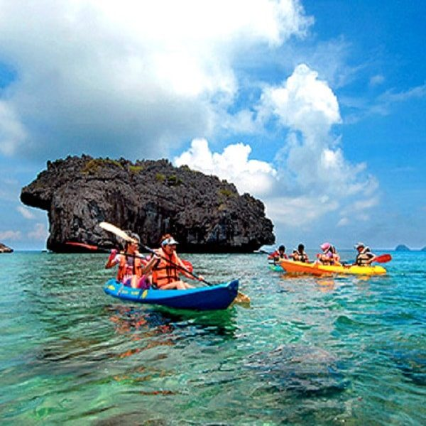 Kayaking in andaman weekend thrill