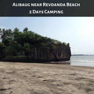 Alibaug near Revdanda BeachCamping