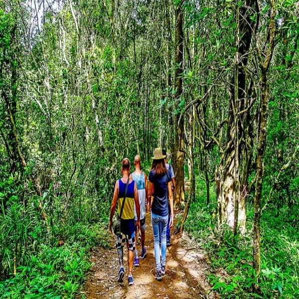 Trekking to Munda Pahad