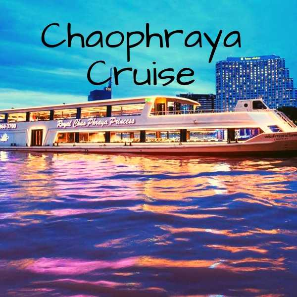Chaophraya river cruise with dinner