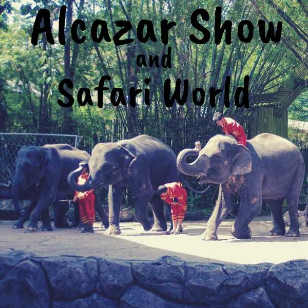 Alcazar Show & Safari world with Marine park
