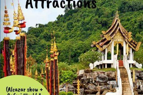 Alcazar show + Safari World with Marine Park + Nong Nooch Village
