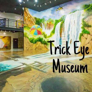 Trick eye museum