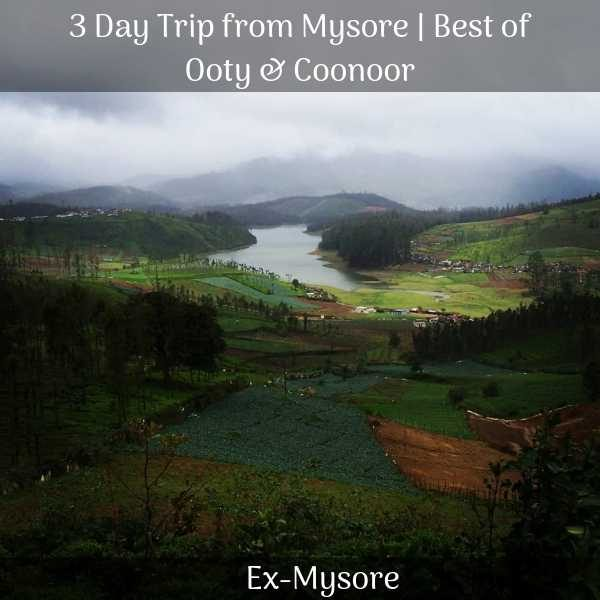 Ooty package from mysore