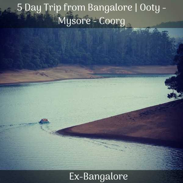 Ooty Mysore Coorg packages