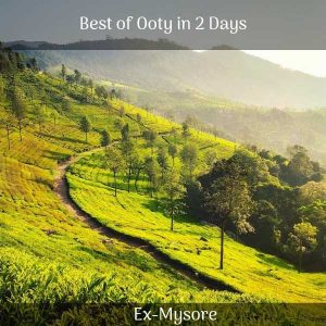 ooty Packages from Mysore