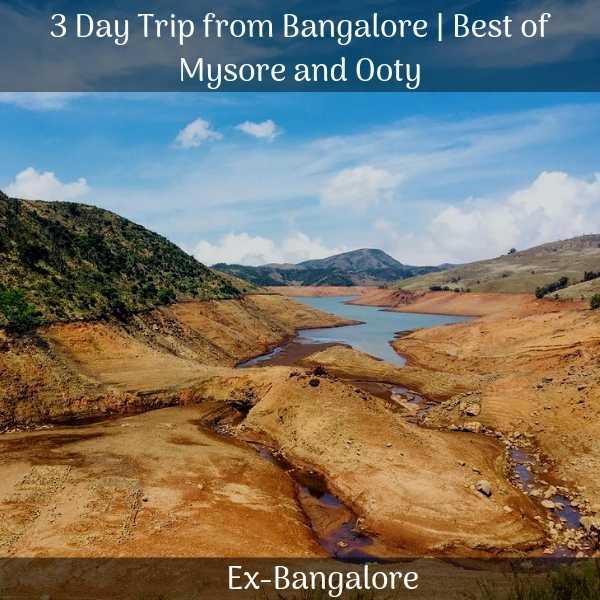 Mysore ooty trip