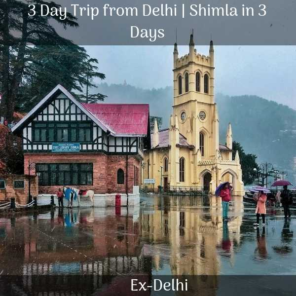 shimla package from delhi