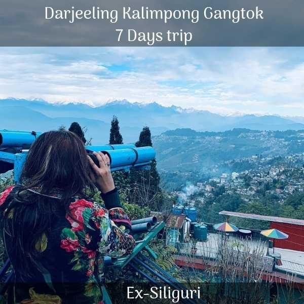 Darjeeling Kalimpong Gangtok trip