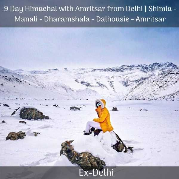 shimla manali package from delhi