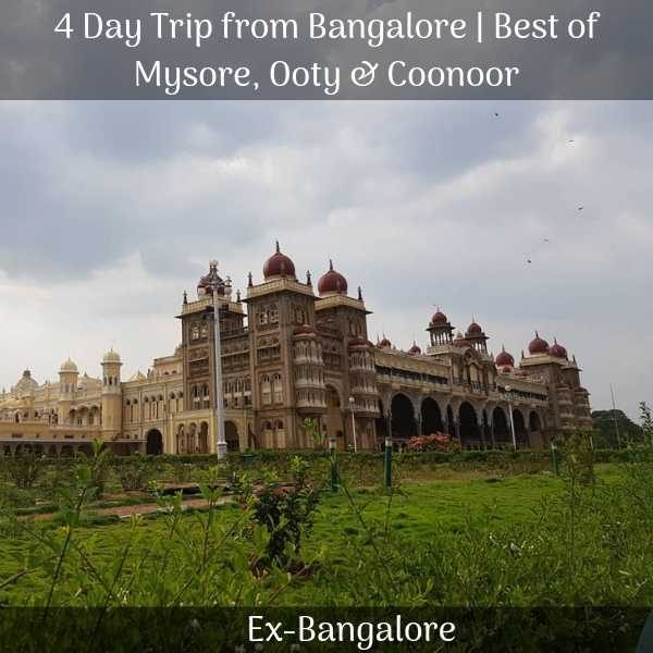 Ooty mysore Packages
