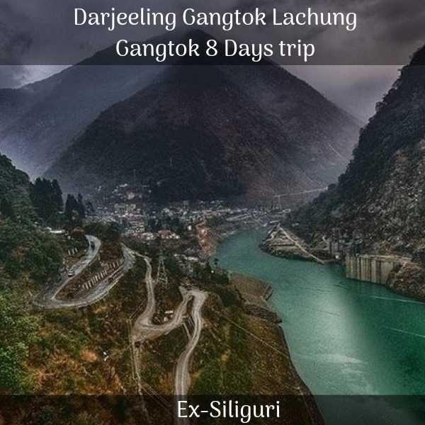 Darjeeling Gangtok Lachung Gangtok trip