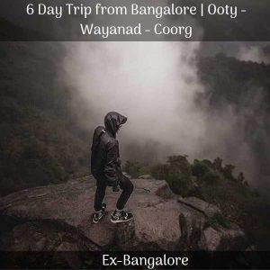 Ooty Wayanad Coorg trip