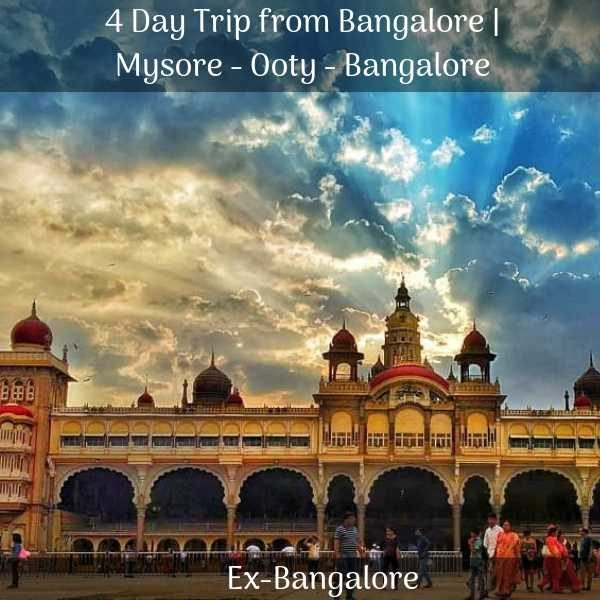 Mysore Ooty packages