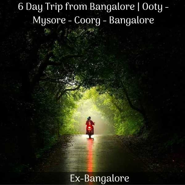 Ooty Mysore Coorg package