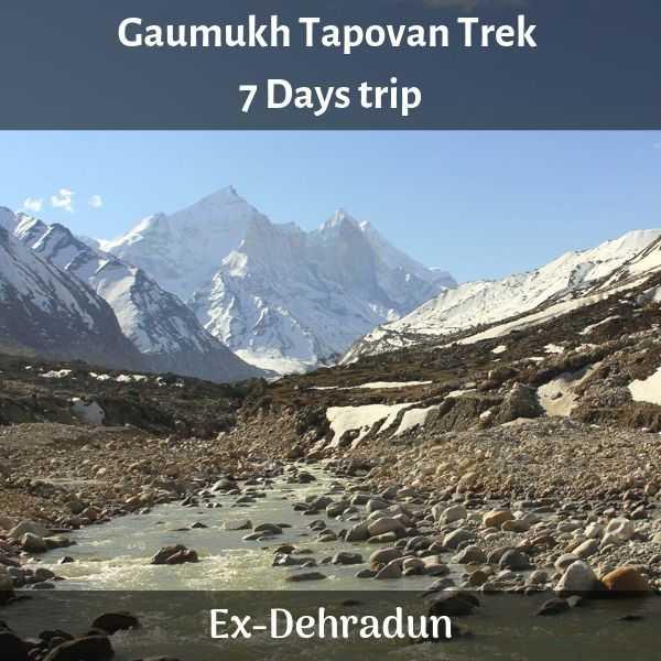Gaumukh Tapovan Trek