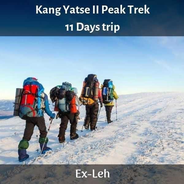 Kang Yatse II Peak Trek