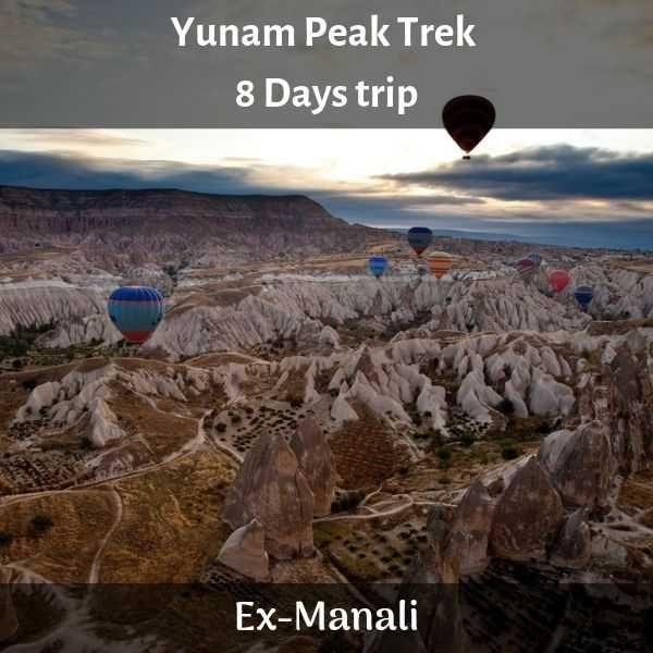 Yunam Peak Trek