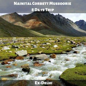 Nainital Corbett Mussoorie