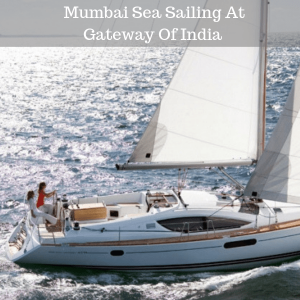 Mumbai Sea Sailing At Gateway Of India
