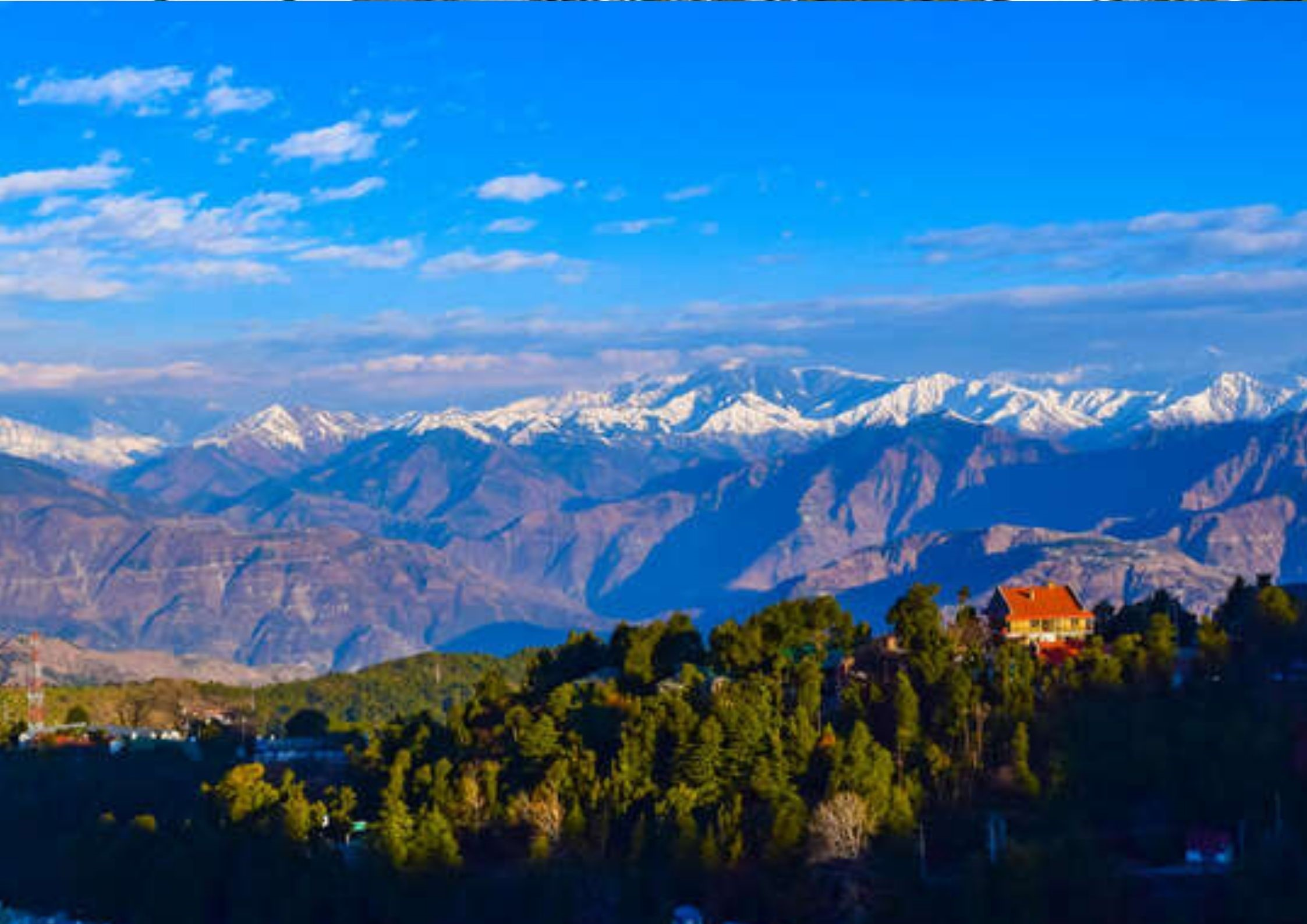 Dalhousie, hill station in north india