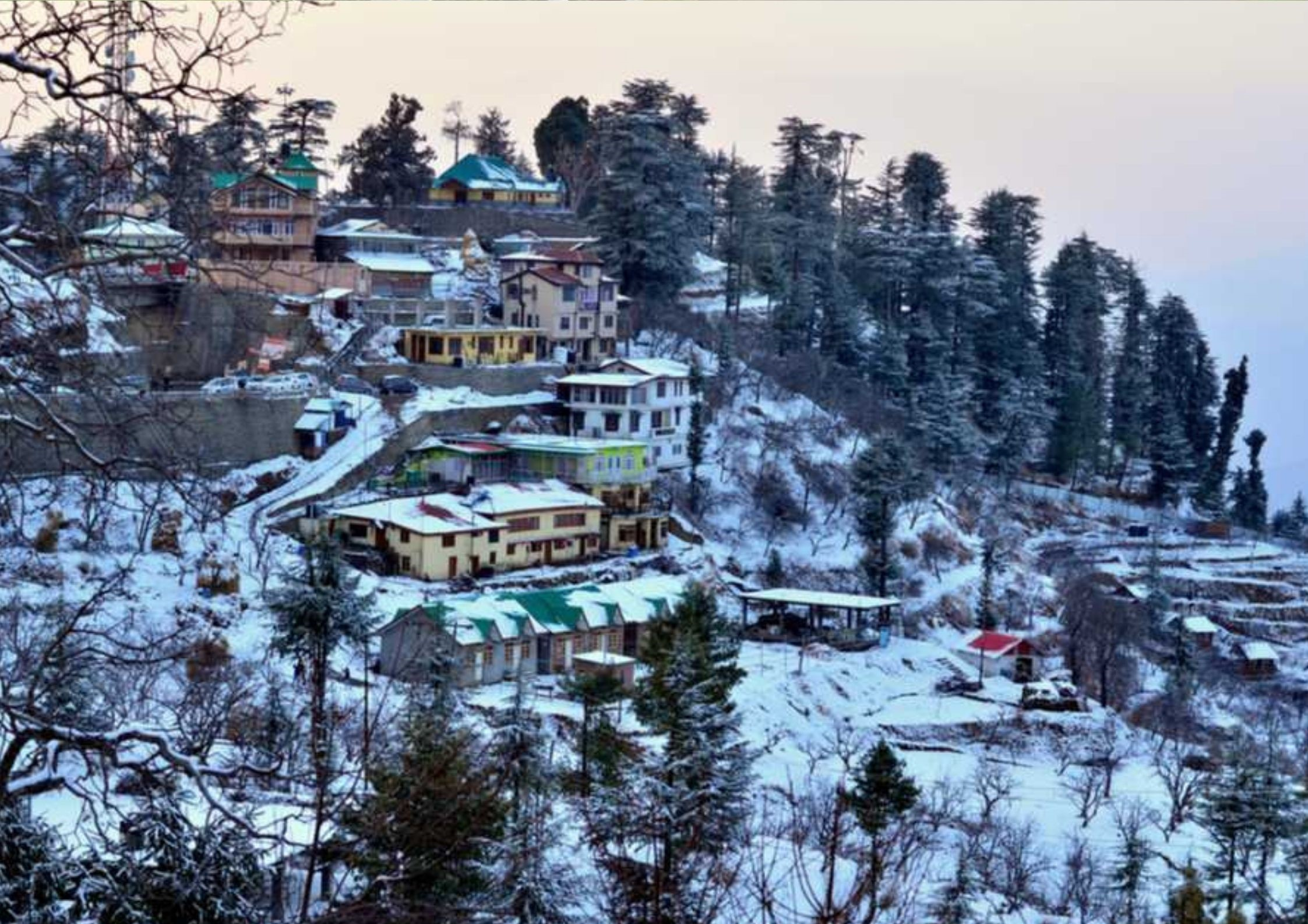 Shimla, hill station in north india